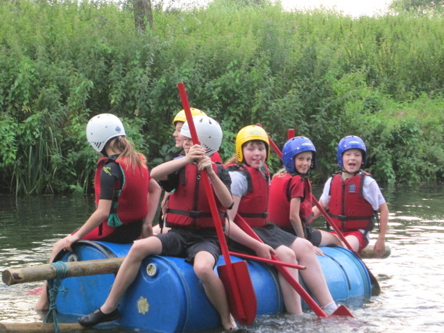 Rafting on the River Stour – July 2017