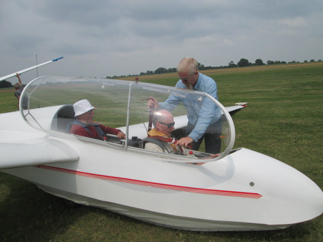 Gliding, Wormingford Airfield – May 2018