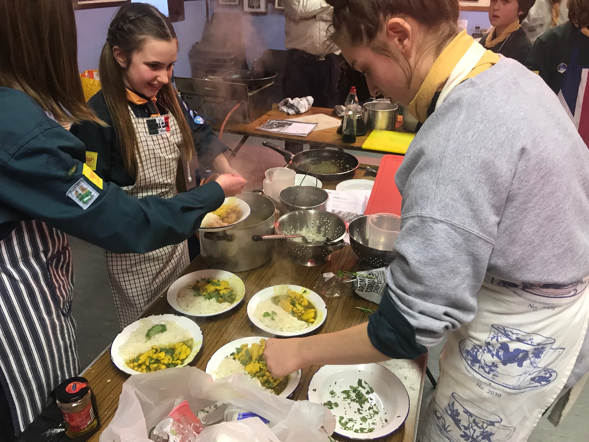 Patrol Cooking Competition (Fox & Kingfisher)