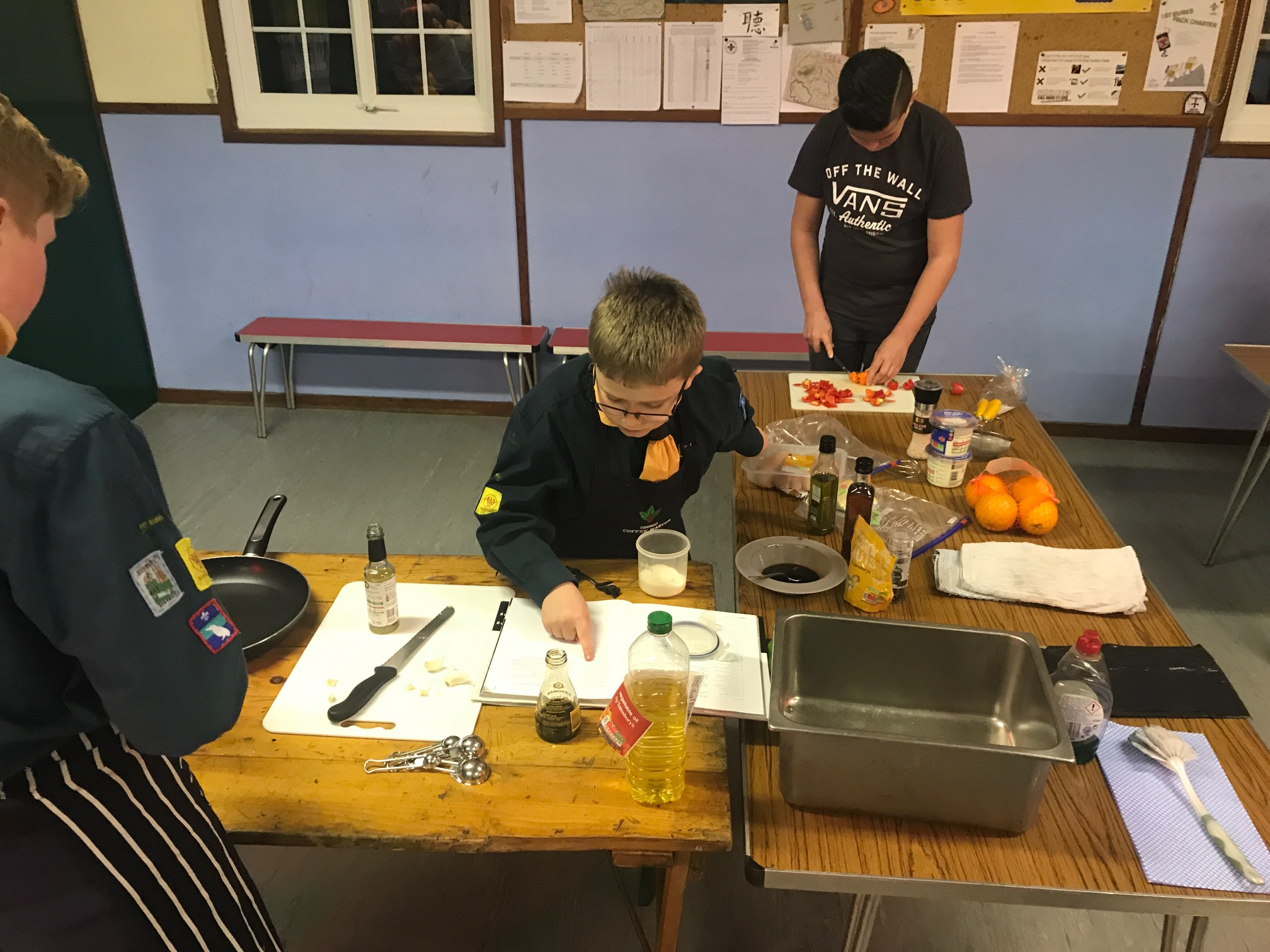 Patrol Cooking Competition