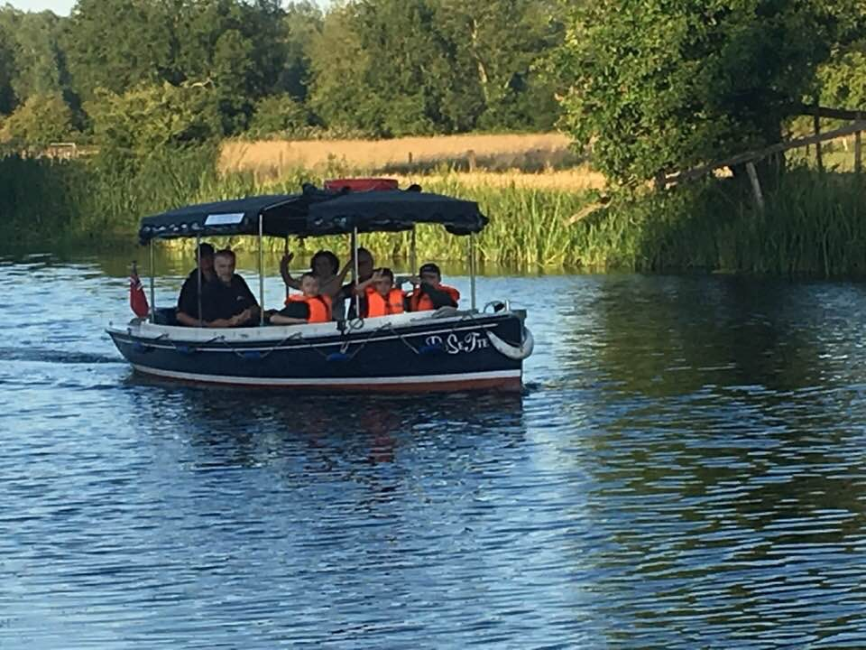 Boating on the River Stour