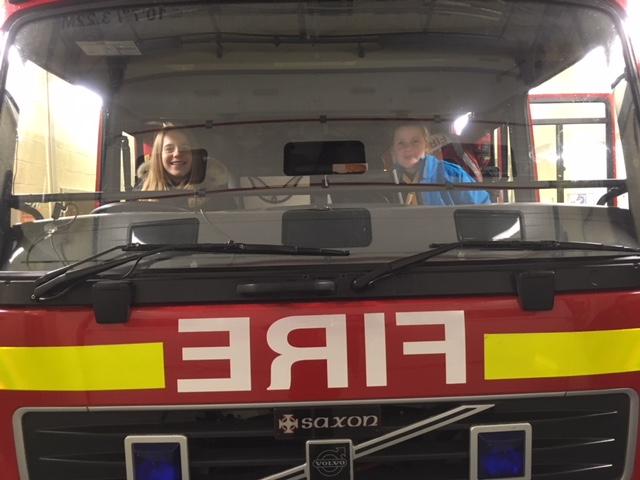 Nayland Fire Station Visit