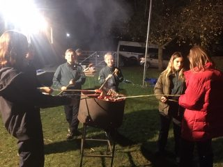 Cooking at Scouts