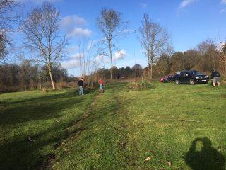 Headquarters & Camp Site Clear Up – November
