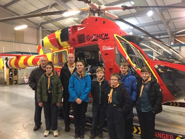Essex & Herts Air Ambulance Visit – January 2019