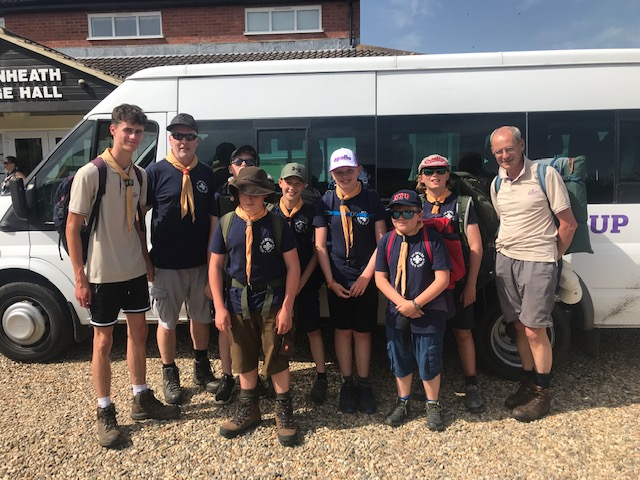 District Mid-Summer Hike & Basher Camp – June 2019