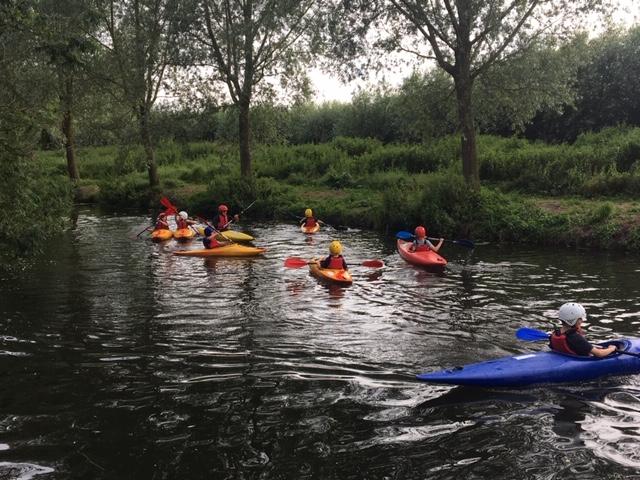 Kayaking 4th July 2019 Group
