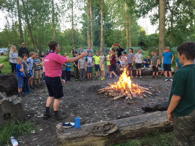 Group Camp – The Croft Camp Site 2017