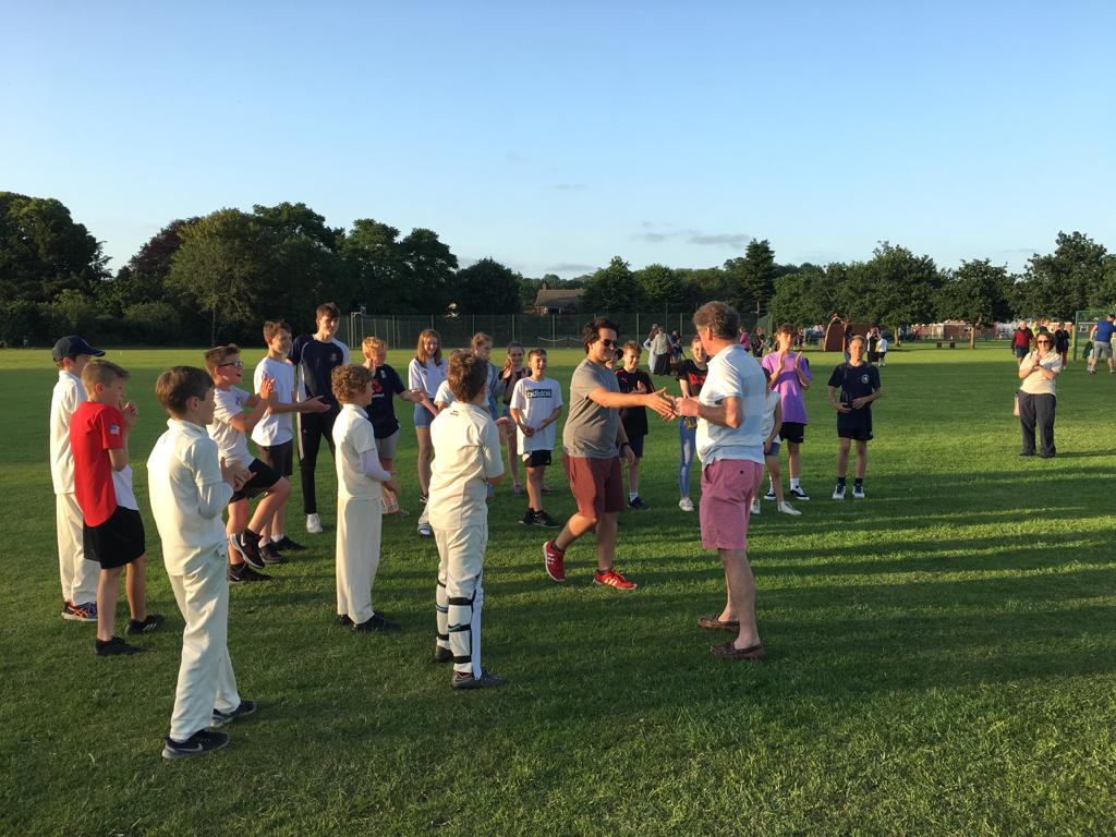 Bures Cricket Club v Bures Scout Group