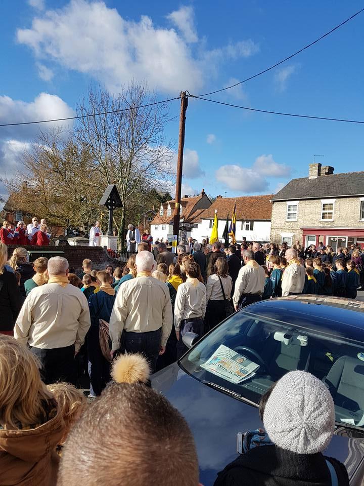 Remembrance Day Parade & Service – November 2017