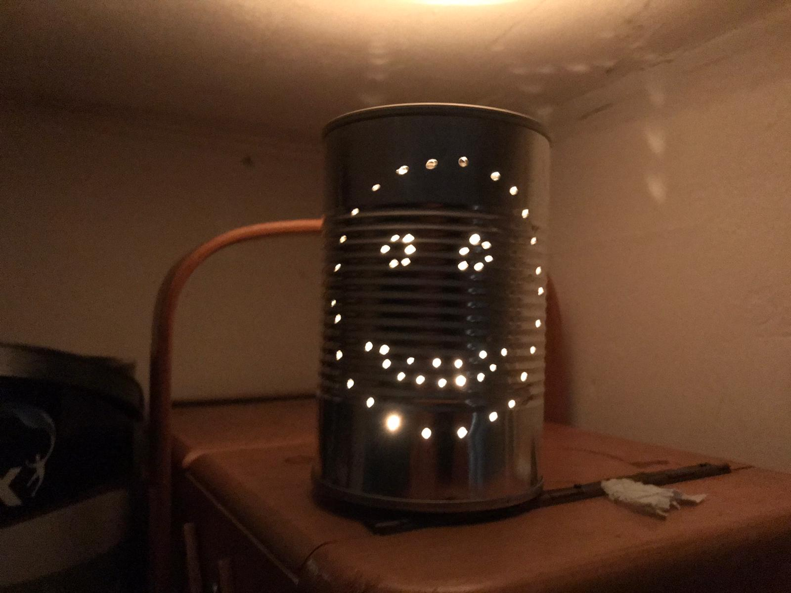 Tin Can Lantern Challenge – December 2020