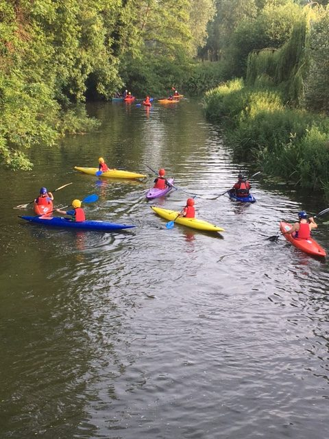 Kayaking on the River Stour June 2017 – Group B